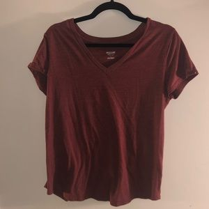 🥰2 for $7🥰 Maroon Mossimo T-Shirt